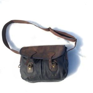 Loving this compact barbour leather and waxed canvas fieldbag Perfecthellip