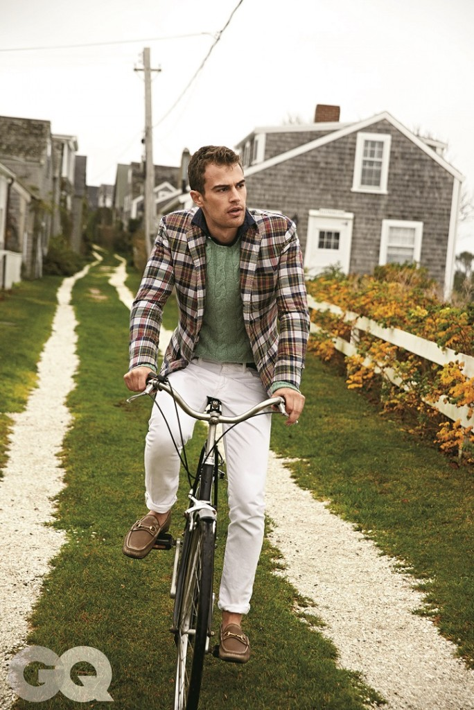 Actor Theo James on Nantucket GQ 684x1024 The Full Circle of Preppy