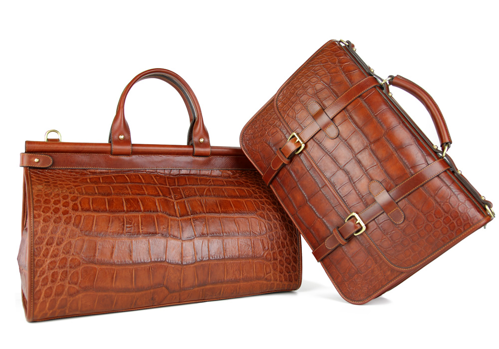 Alligator duffle briefcase1 35 Years Perfect: The Frank Clegg English Briefcase