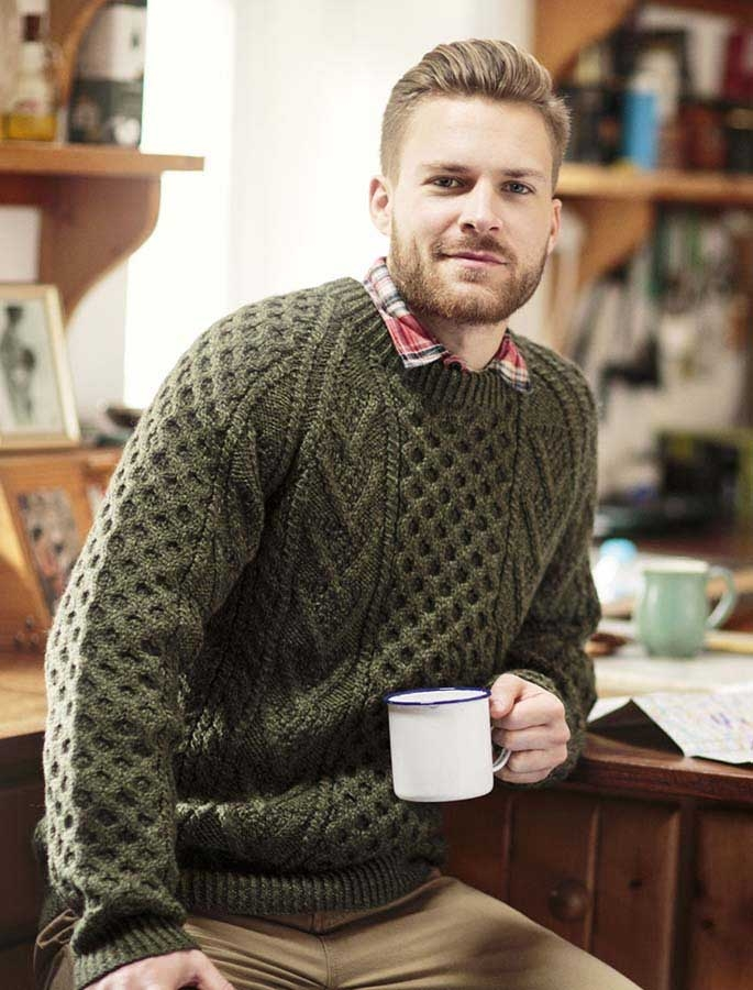 Aran Handknit What to Wear This Fall: Irish Sweaters