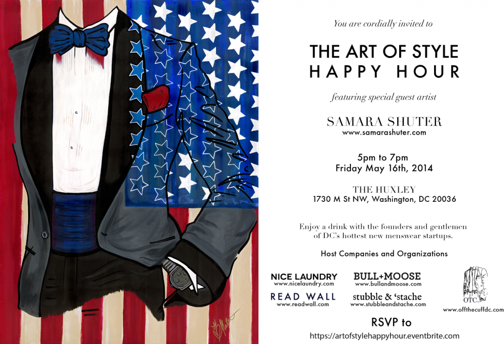 Art of Style Invite Large 1024x699 Join us on May 16: The Art of Style With Samara Shuter