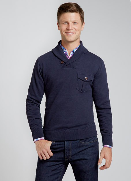 Bonobos Fleetwood Pullover Navy The Guideshop: Bonobos Brick & Mortar