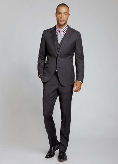 Bonobos Suit Charcoal Slim2 The Guideshop: Bonobos Brick & Mortar