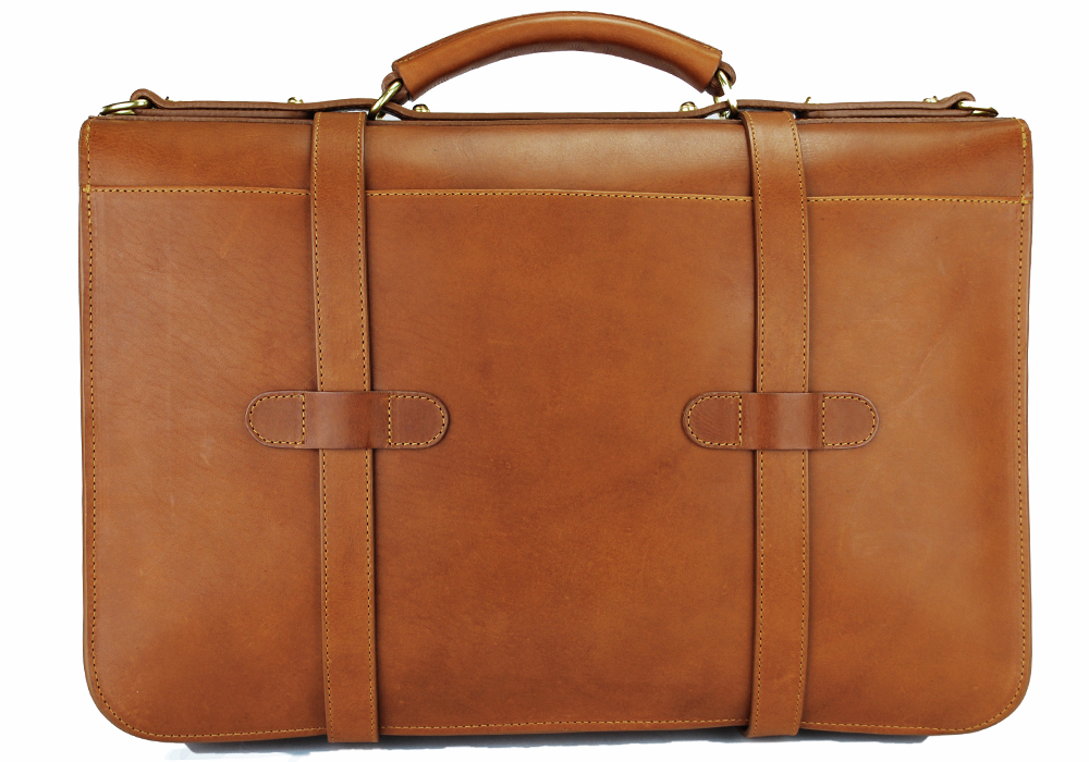 English Briefcase Cognac 2 35 Years Perfect: The Frank Clegg English Briefcase