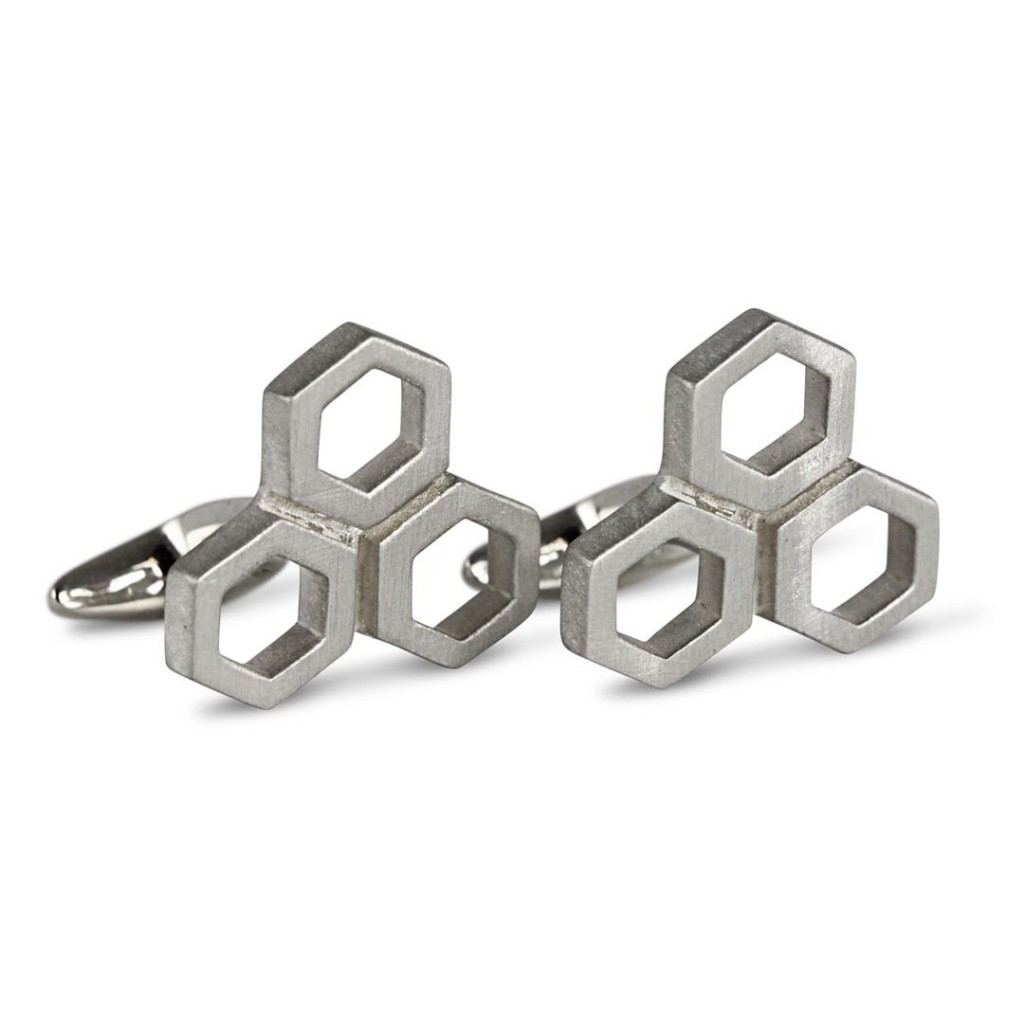 HB London Hexagon Cufflink 1024x1024 H&B Londons Holiday Gift   25% Discount