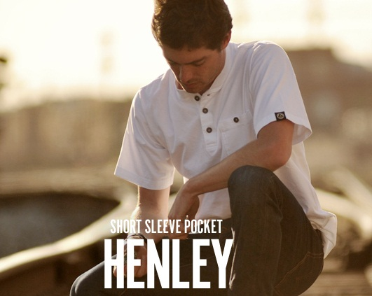 American Giant SS Pocket Henley