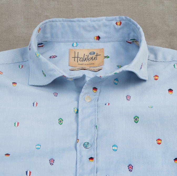 Halibut FIFA Oxford 2 Halibut Shirts: Italian for Fun