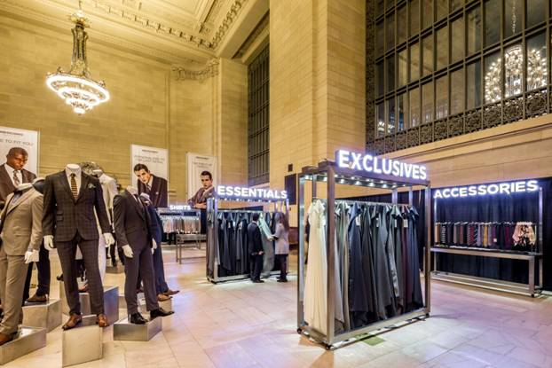 Indochino Traveling Tailor Pop-Up Shop