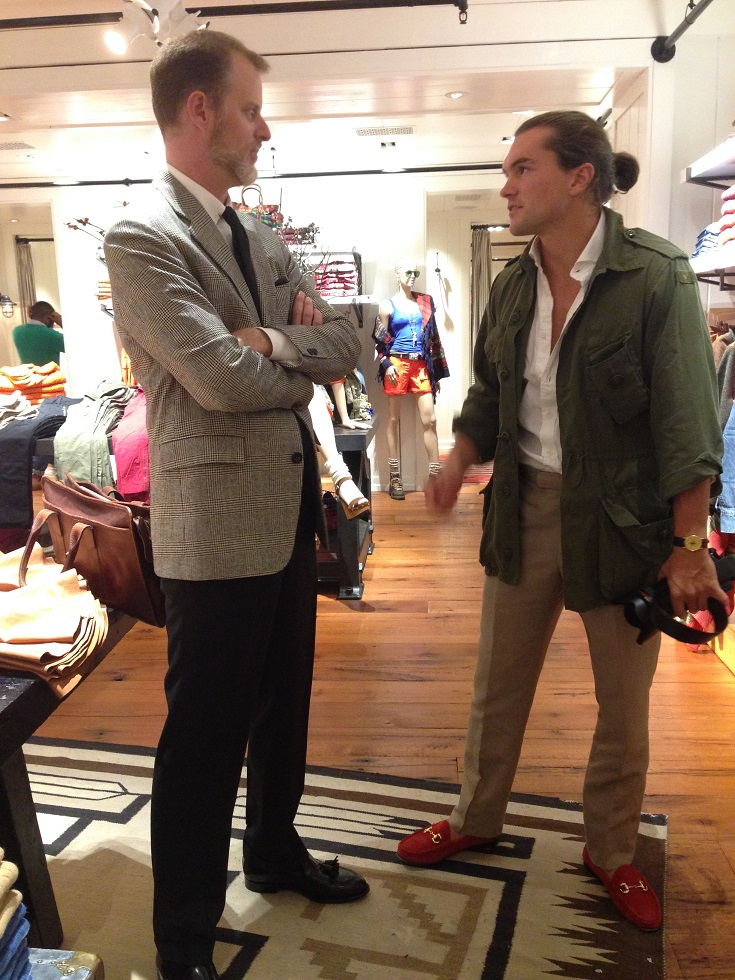 Ivy Style FYG OTC at the New York Launch Party for the Book Rowing Blazers