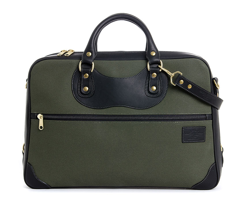 JPLC Courier Ruc Olive Canvas Holiday Gift? In the J. Panther Bag