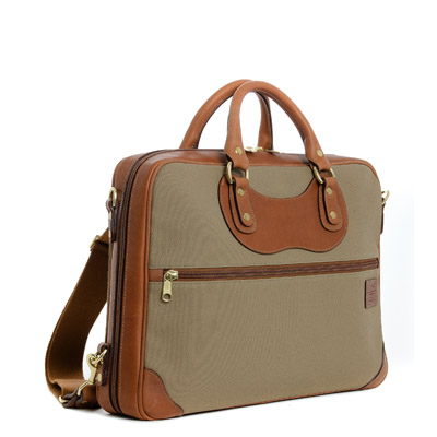 JPLC Courier Ruc Tan Canvas Holiday Gift? In the J. Panther Bag
