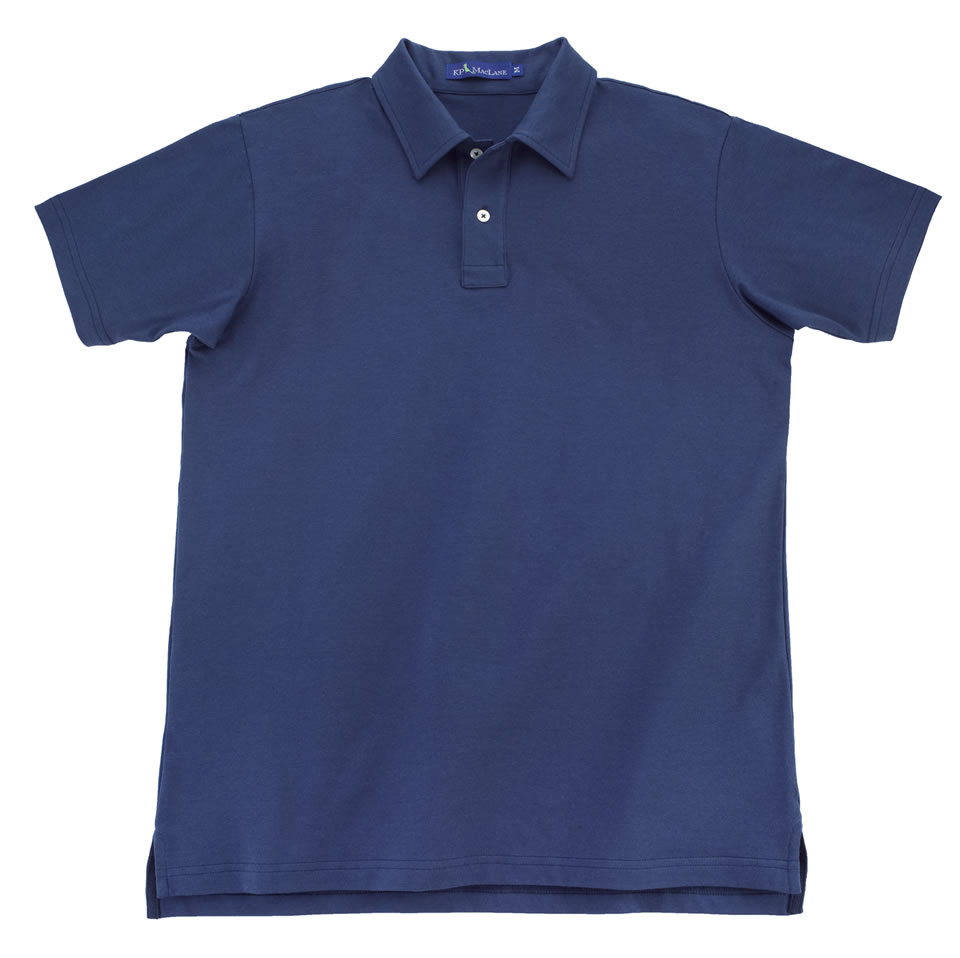KP MacLane Polo Navy KP MacLane: Clean and Classic Style
