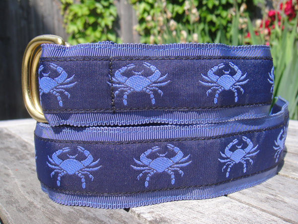Knot Blue Crab Belt 2011 Holiday Wish List