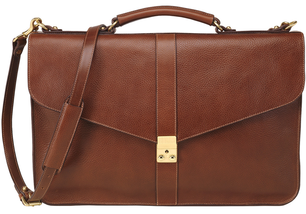 LC Leather Lock Briefcase 2011 Holiday Wish List
