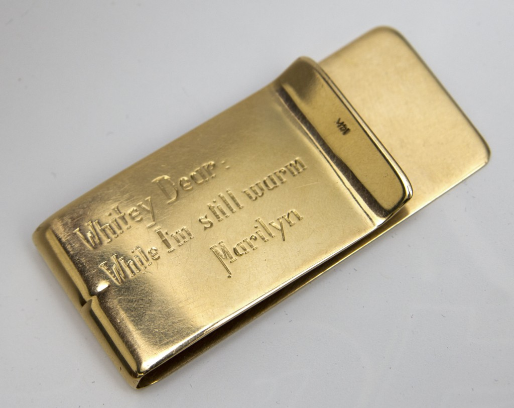Marilyn Monroes Gift Tiffany Money Clip Accessories: The Money Clip