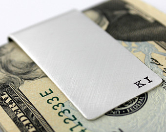 Modern Sterling Money Clip
