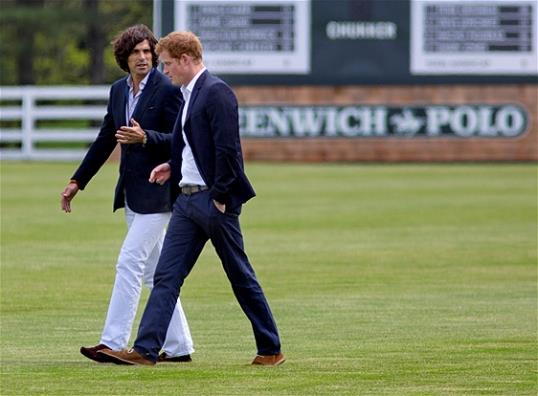 Prince Harry and NAcho Figueras Navy Blazer Basics 101: The Blue Blazer