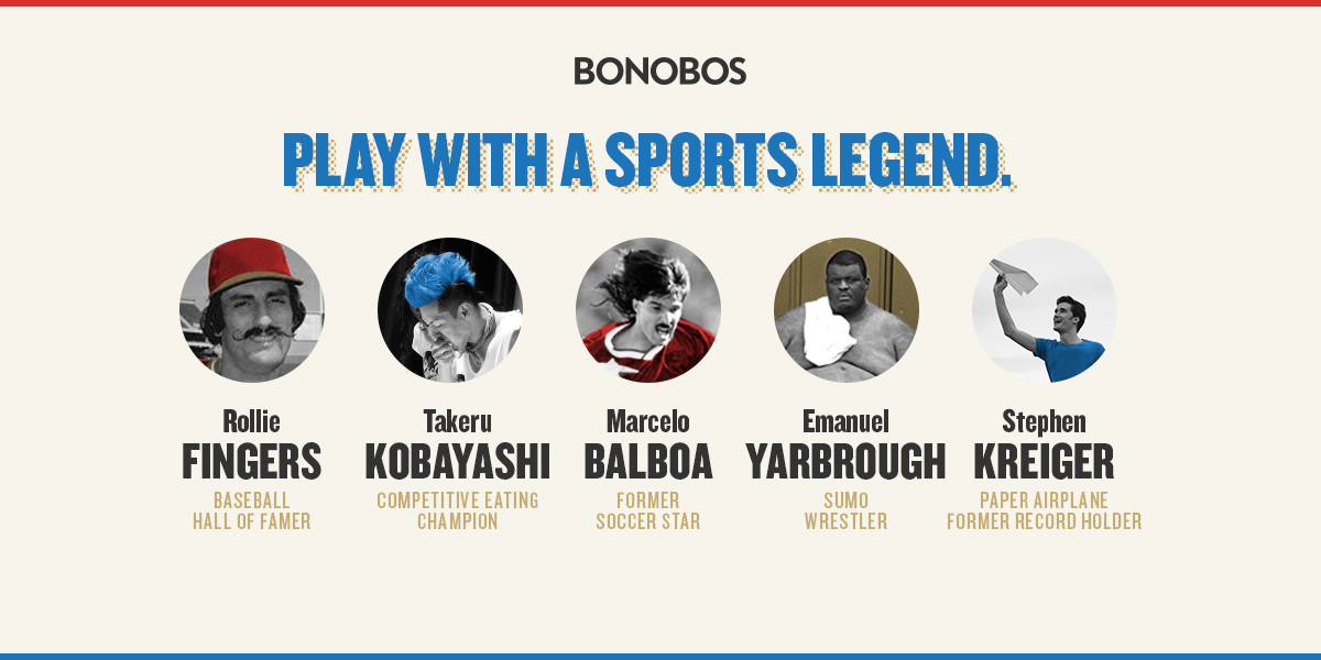 Pro Am Athletes Sign Up Now For Bonobos Bracket Challenge