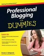 ProfessionalBloggingFD Cover25percent1 Off The Cuff Gets Big Mention in New Dummies Book