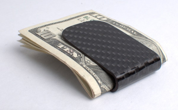 RC Fibers Black CF Money Clip Accessories: The Money Clip