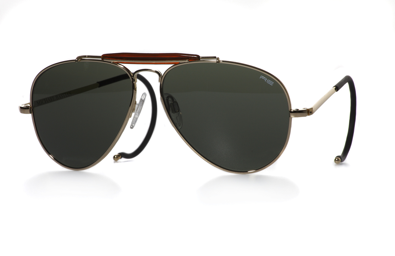 79a68eeb7d3 Award winning designer Michael Bastian recently joined forces with eye wear  maker Randolph Engineering ...