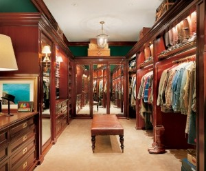 Ralph Laurens Closet 300x248 Getting It Together: Wardrobe Maintenance