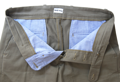 Read Wall Wright Chinos Detail Read Wall's Clean American Prep