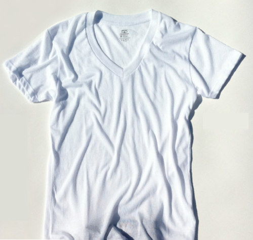 Ribbed Tee Retro-Fit (Via Por Homme)