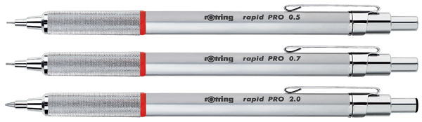 Rotring Rapid Pro Family 2013 OTC Holiday Style Guide: Modern Classics
