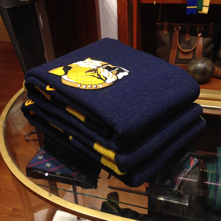 Rowing Blazers Bulldog Blanket