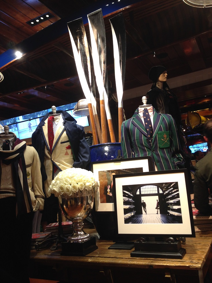 Rowing Blazers PRL Display