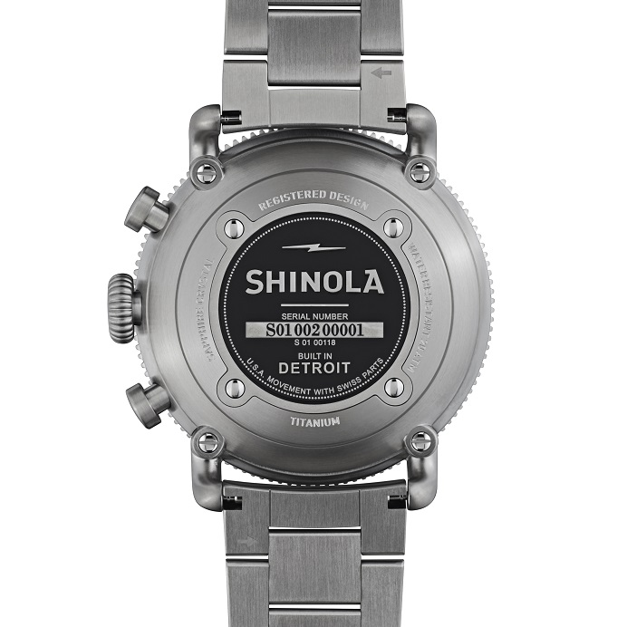 Shinola Black Blizzard Three