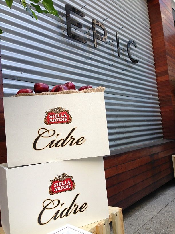 Stella at EPIC Chicago Stella Cidre Throws a Party