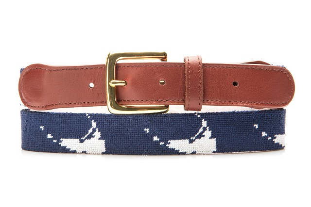 Tucker Blair Nantucket Needlepoint Belt First Take on Summer Style
