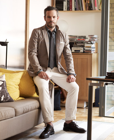 Monocle Magazine's Founder, Tyler Brule for J.Crew