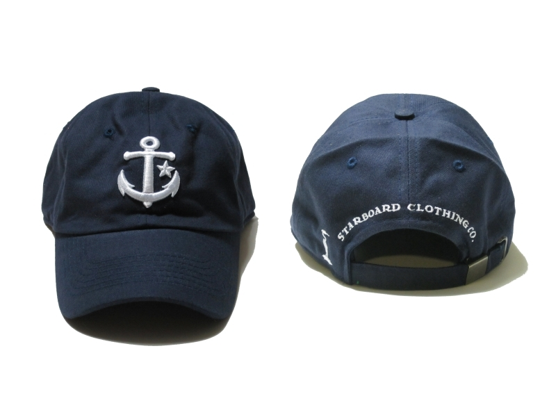 navy blue starboard signature cap1 Starboard Clothing Co.