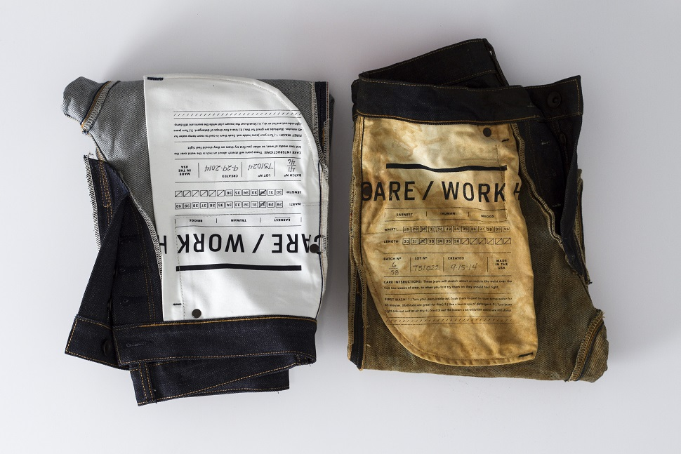 noblejean The Noble x Bulleit Barrel Aged Jeans Project