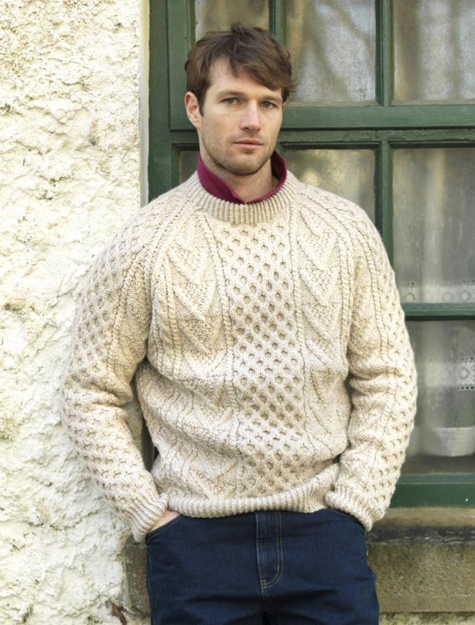 Male Tricôs: The Classic Aran Sweater